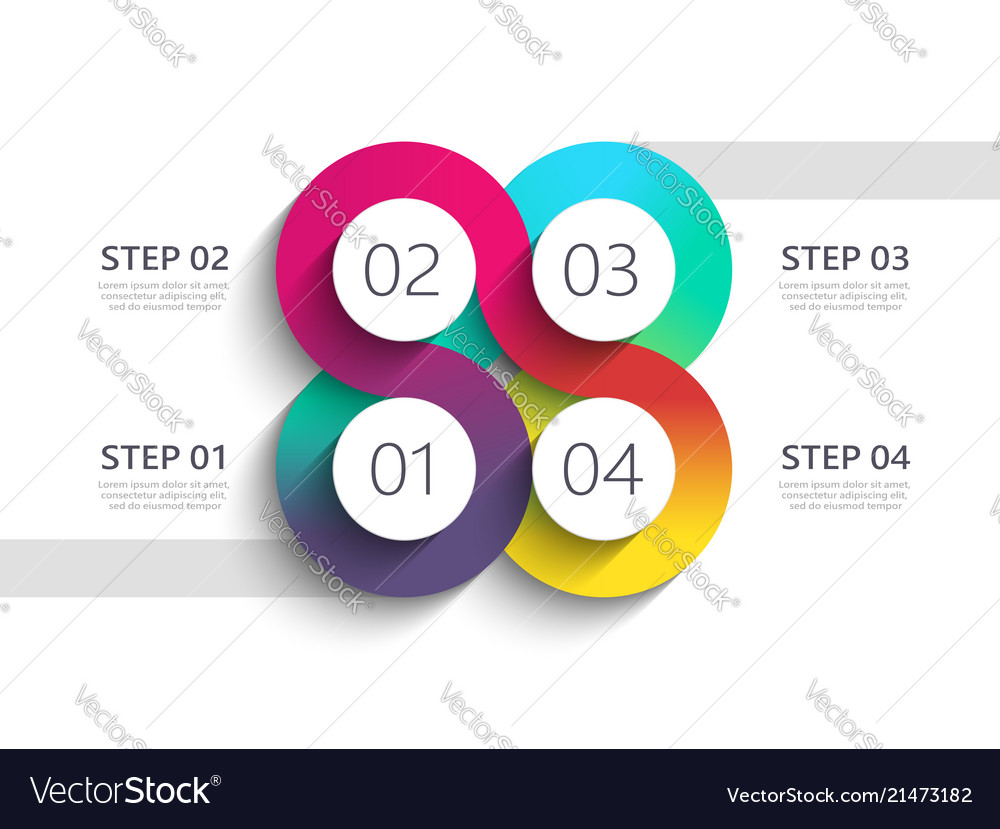 Winding road modern 3d infographic template with
