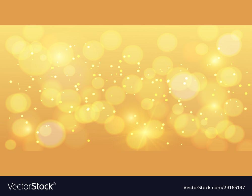 Golden bokeh background gold bokeh magic