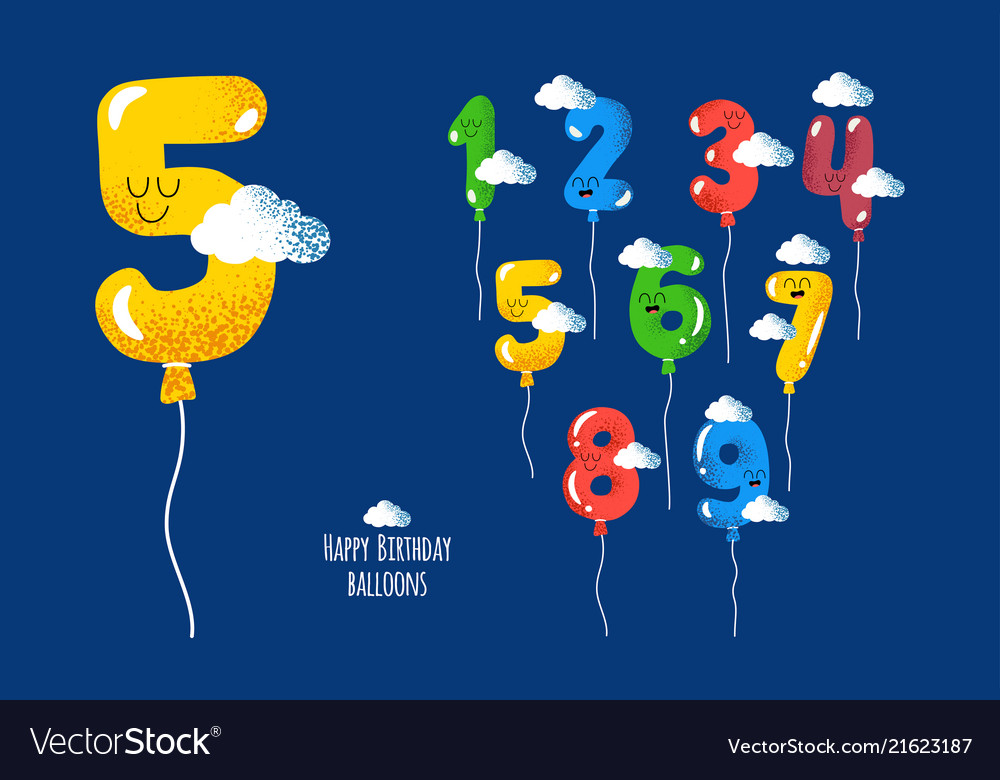 Happy birthday numbers will make your