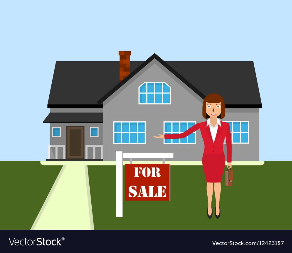 Real estate broker cottage for sale