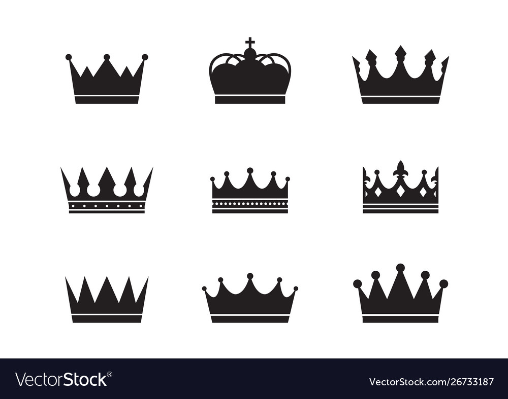 Royal crowns collection quality crown collection