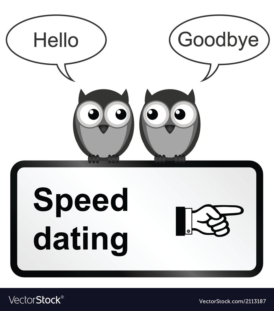 Speed Dating Royalty Free Vector Image Vectorstock