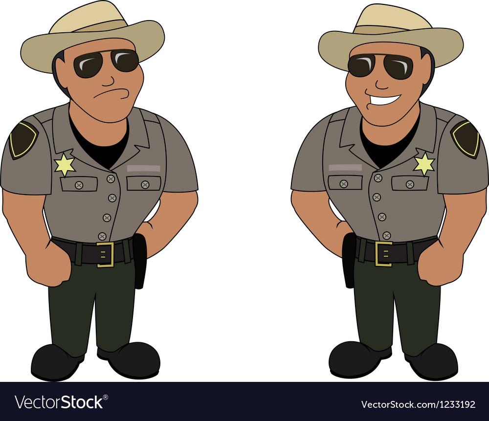 A sheriff