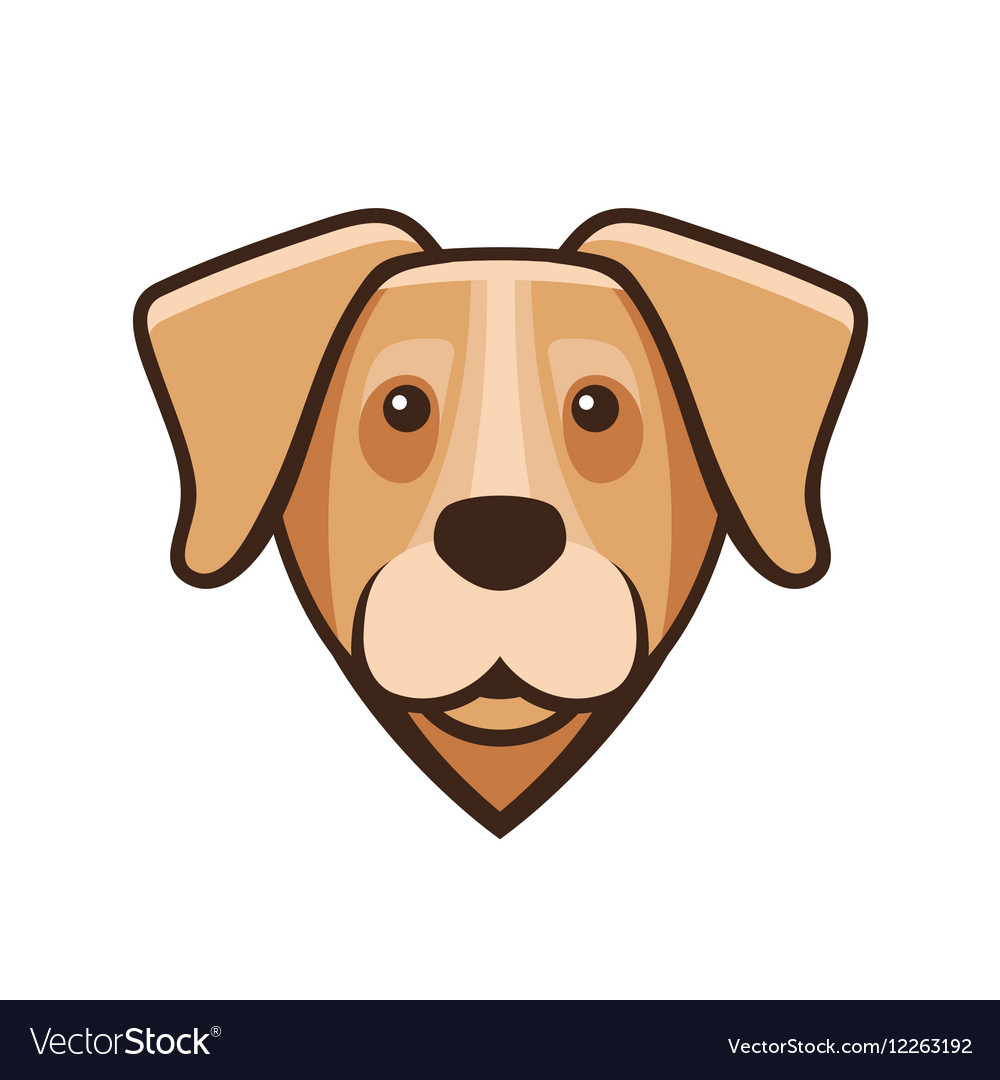 Labrador Retriever Dog Head Icon