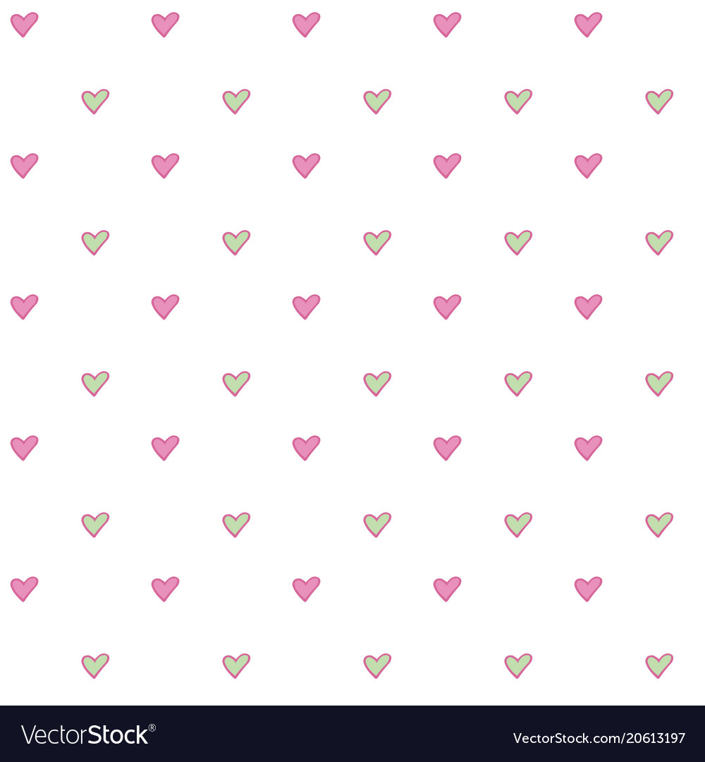 Seamless abstract pattern with little simple
