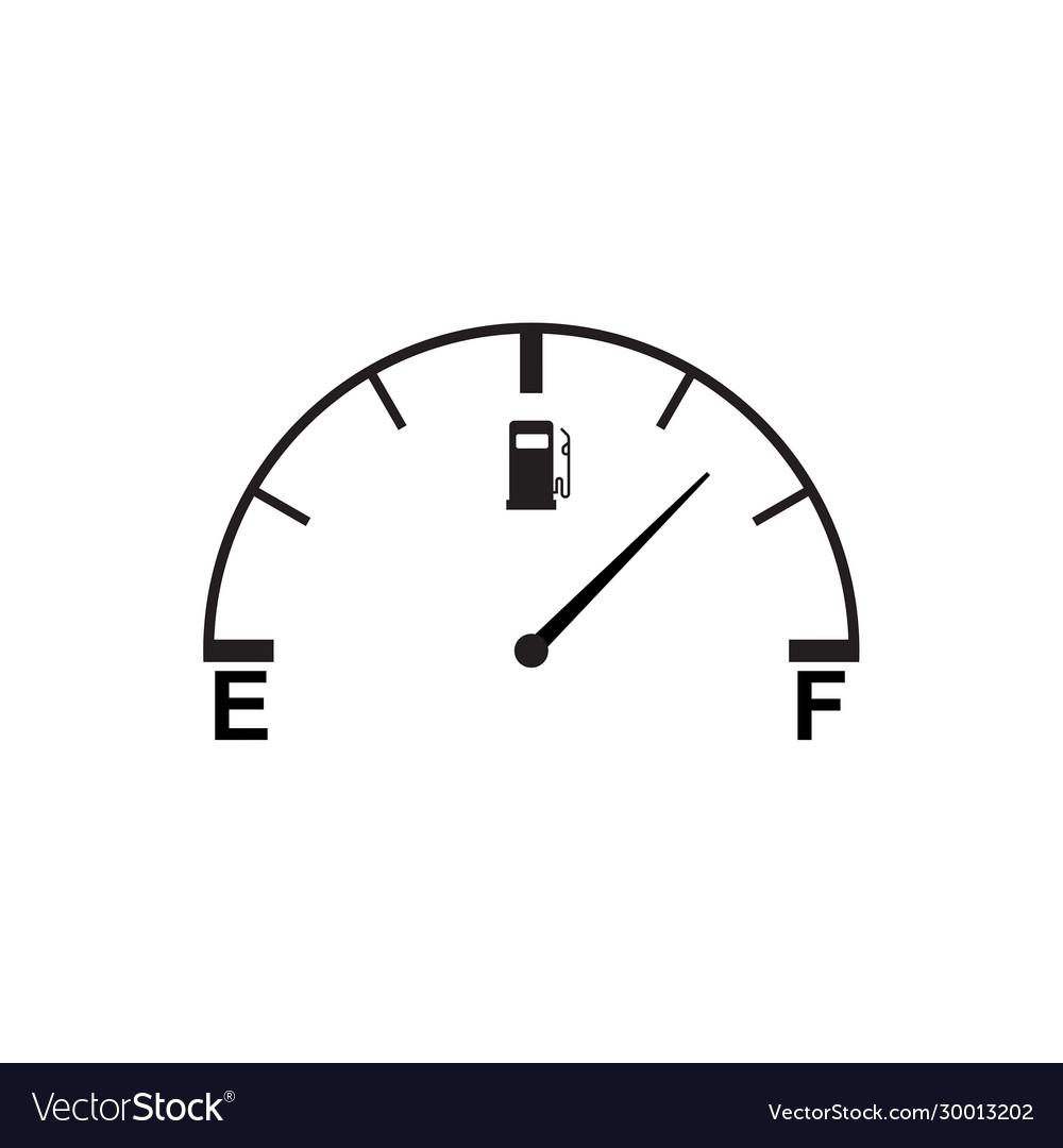 Full fuel gauge icon