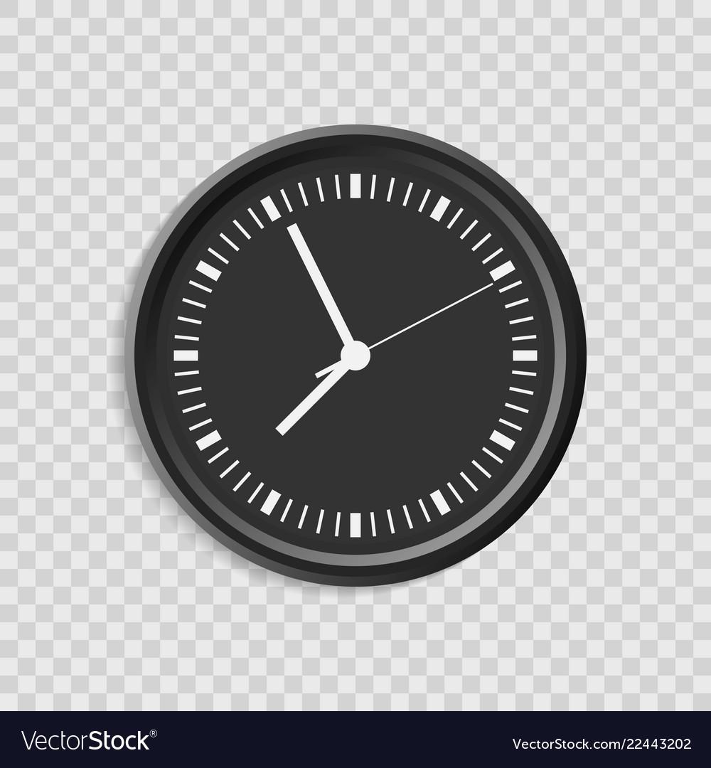 Realistic clock set