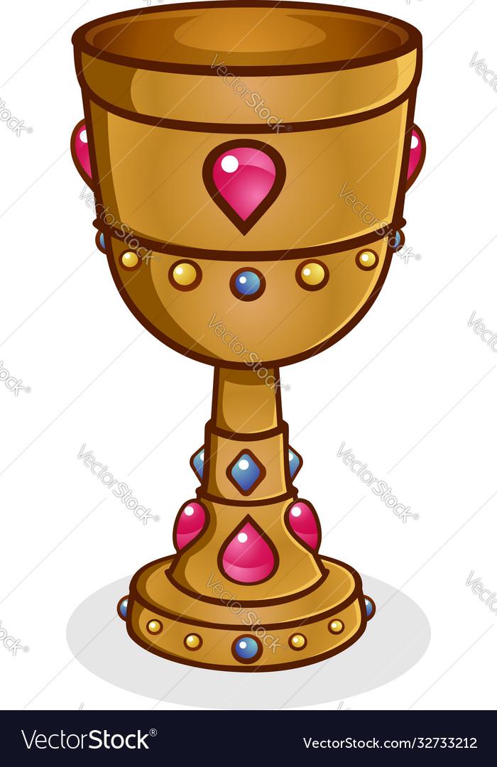 Gold cup cartoon