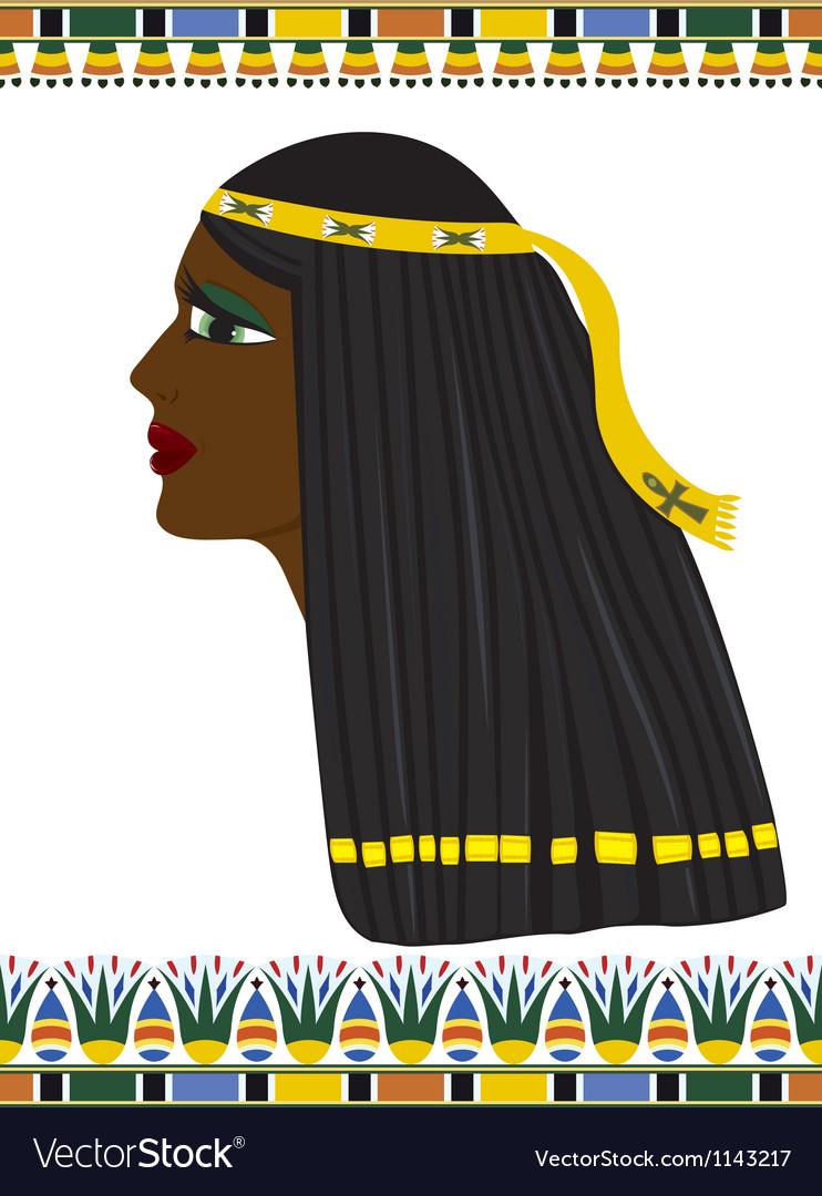 Ancient Egypt portrait of woman