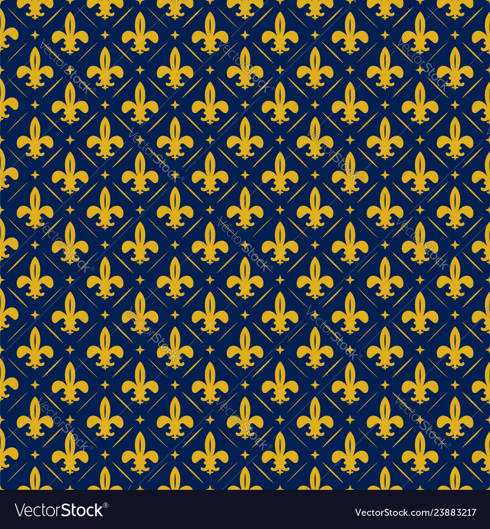 Fleur de lis lily texture