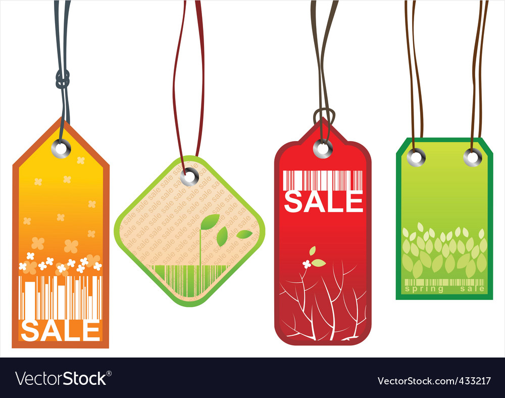 Retail sale tags