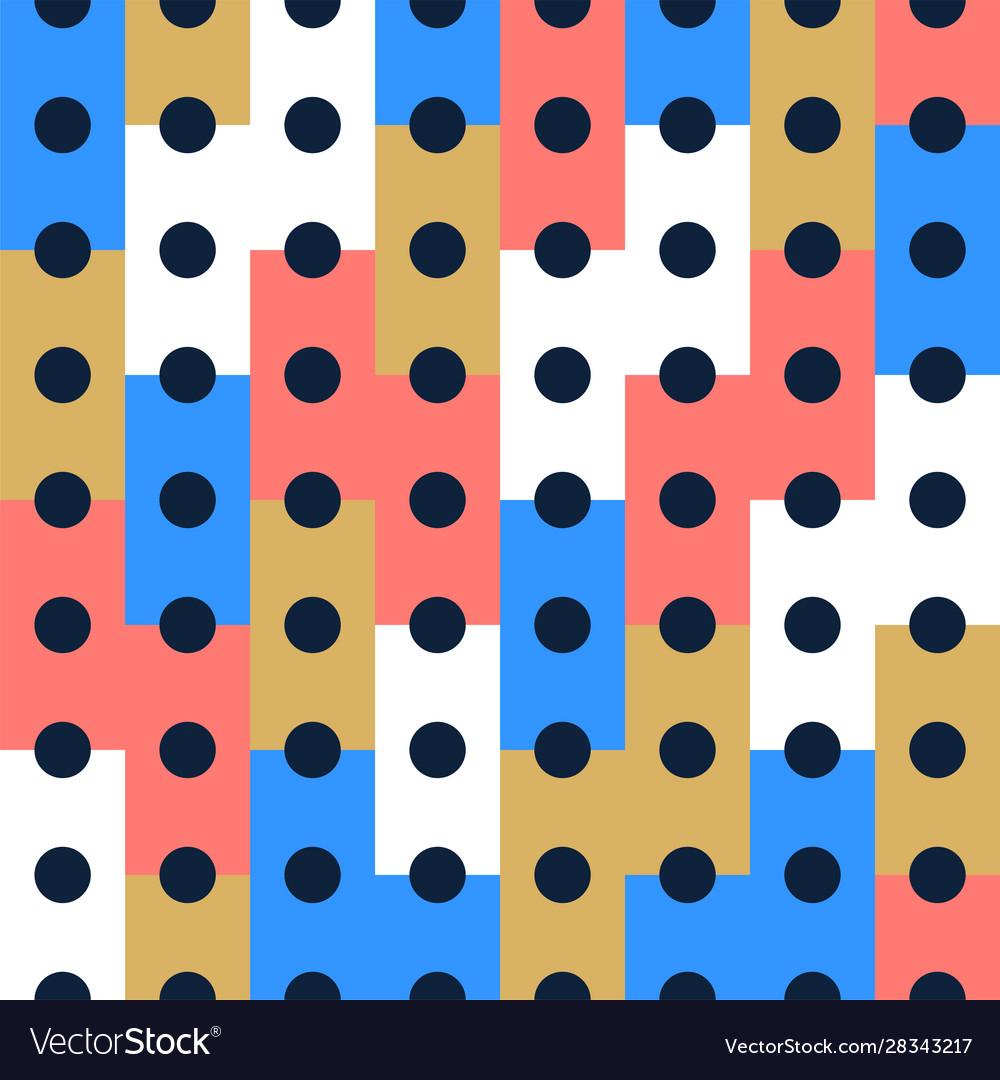 Seamless pattern background design modern