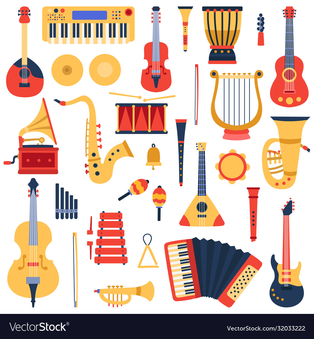 Music instruments musical classical instruments
