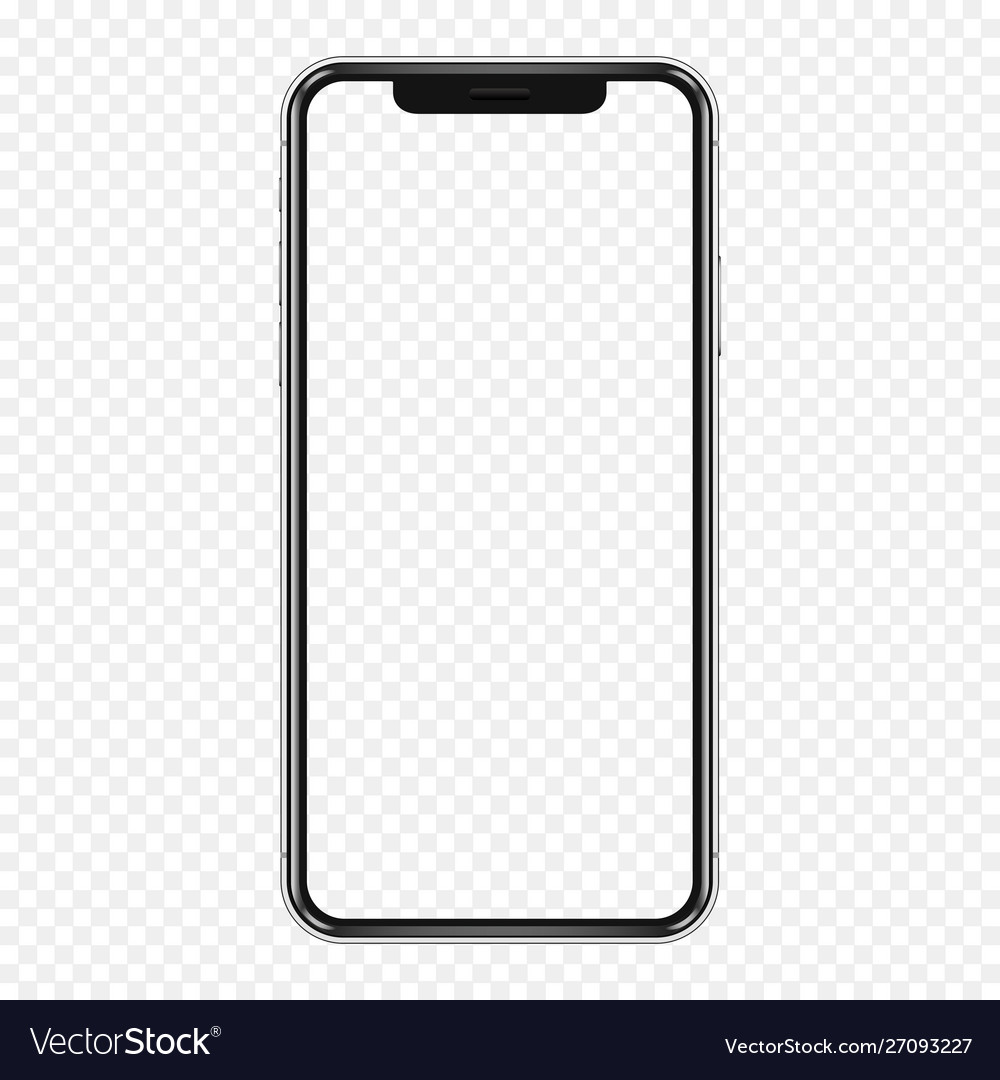 Smartphone mockup cellphone frame with