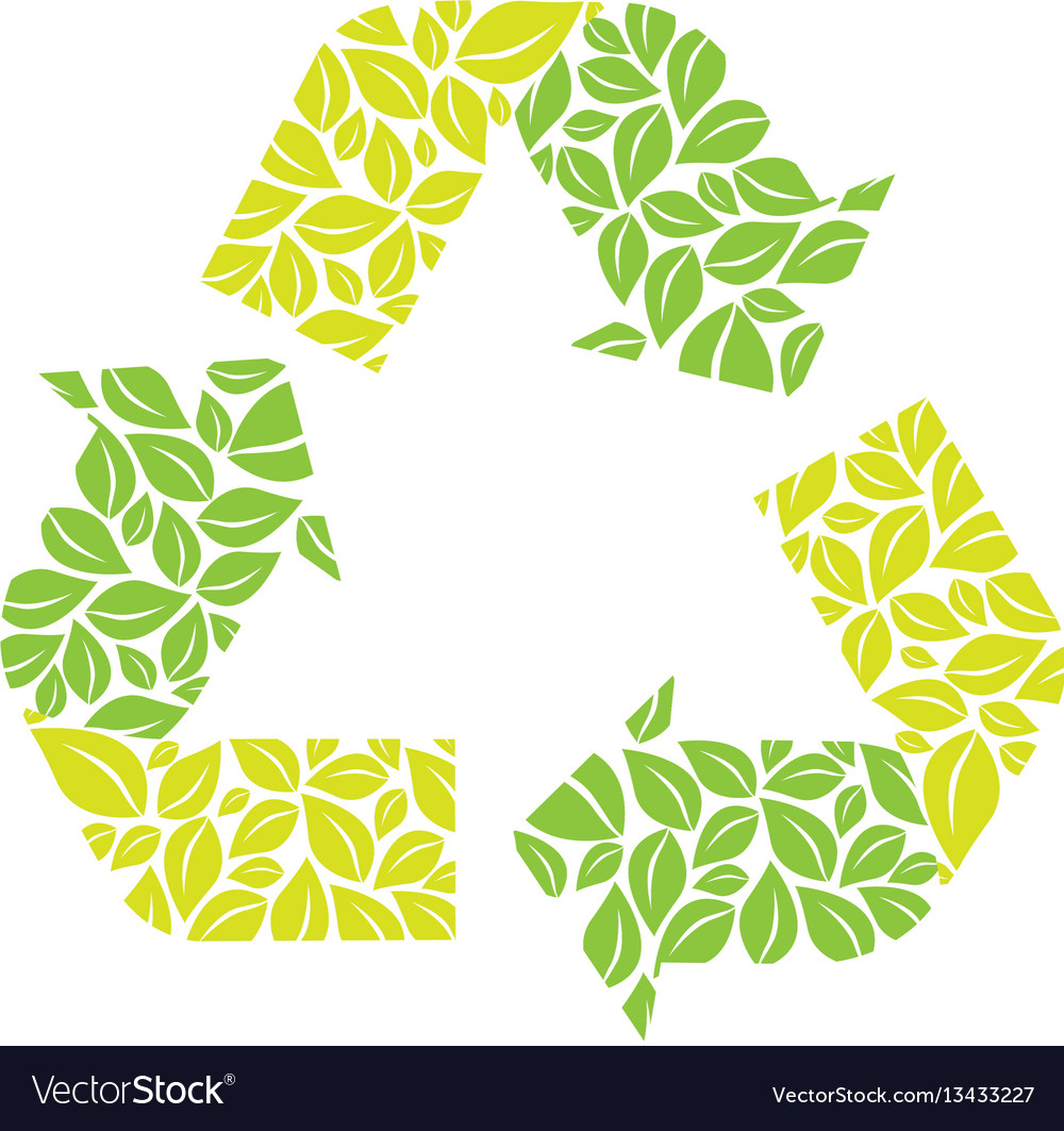 Symbol Reuse Reduce And Recycle Icon Royalty Free Vector