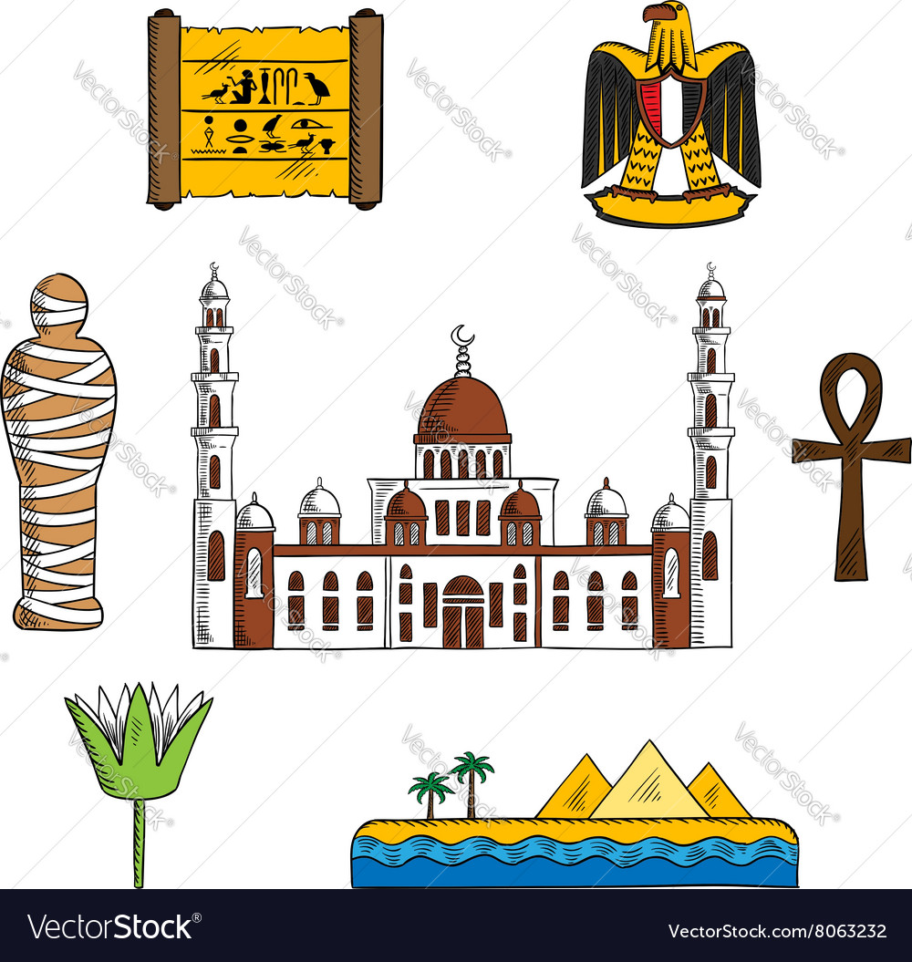 Icons and symbols of ancient Egypt
