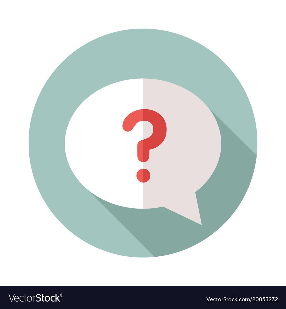 Question bubble icon — 1