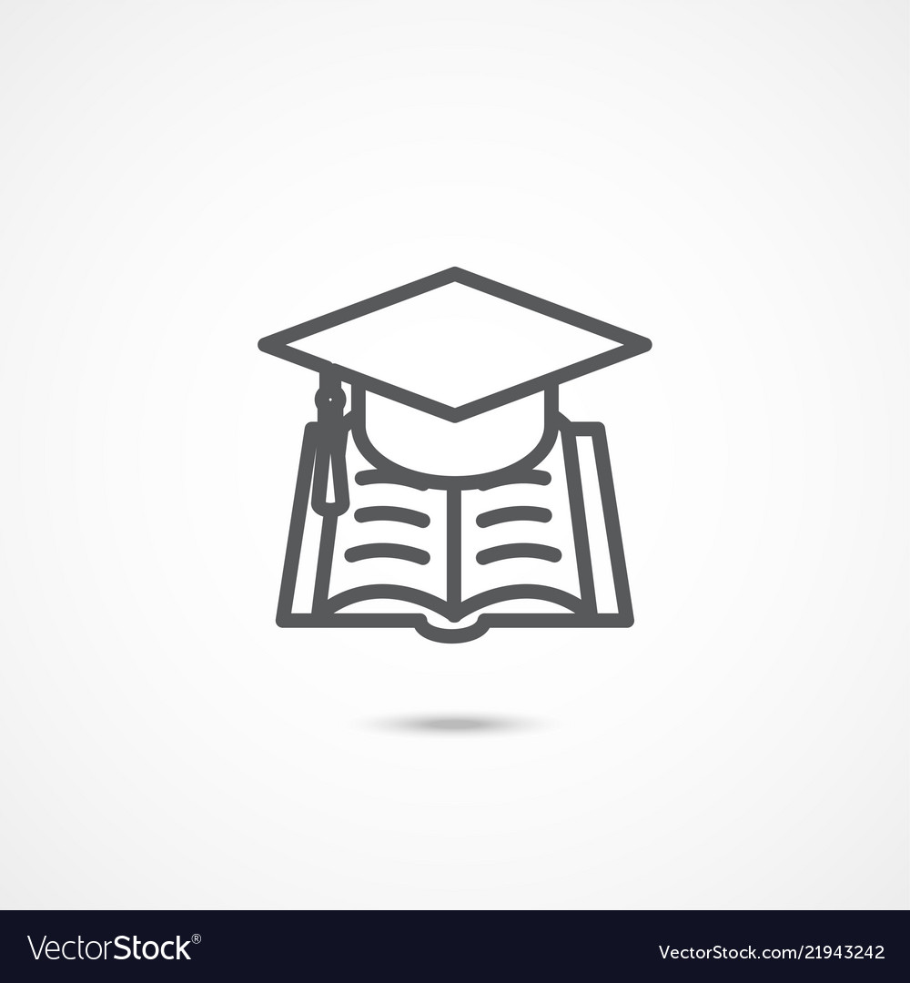 Education sign icon