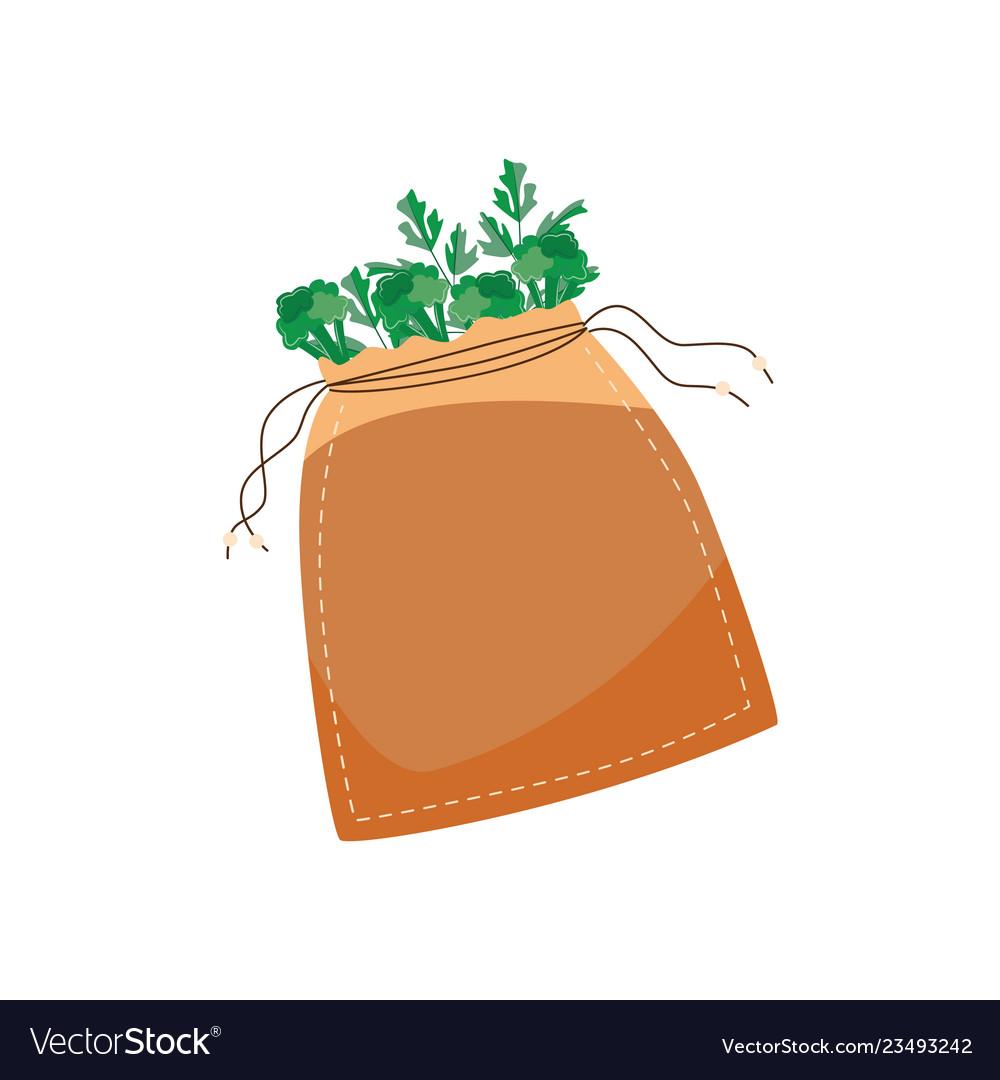 Reusable cotton bag with