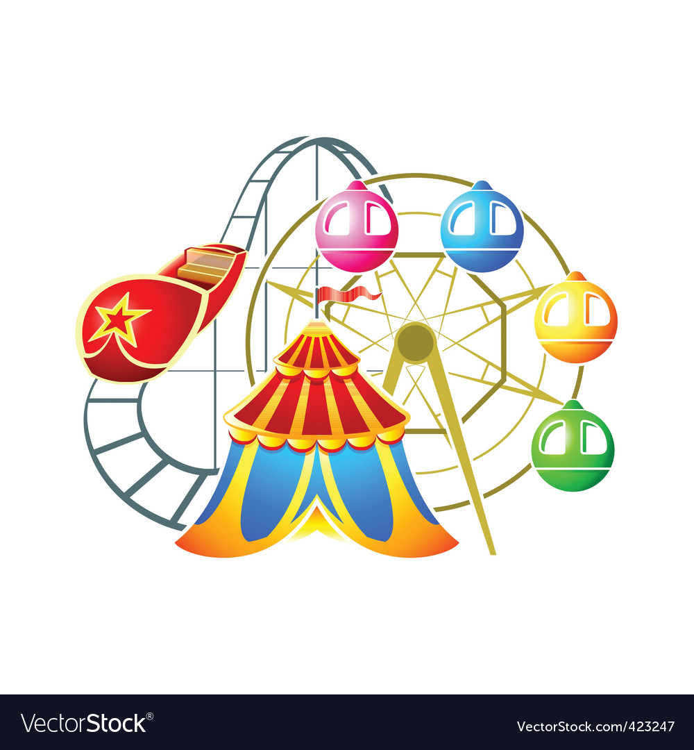 Amusement park symbol