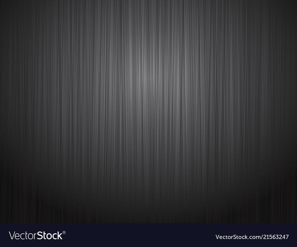 black brushed metal steel background royalty free vector