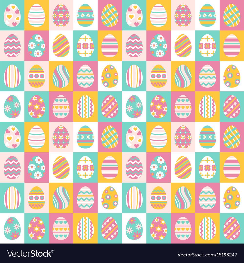 Easter eggs for easter holidays design