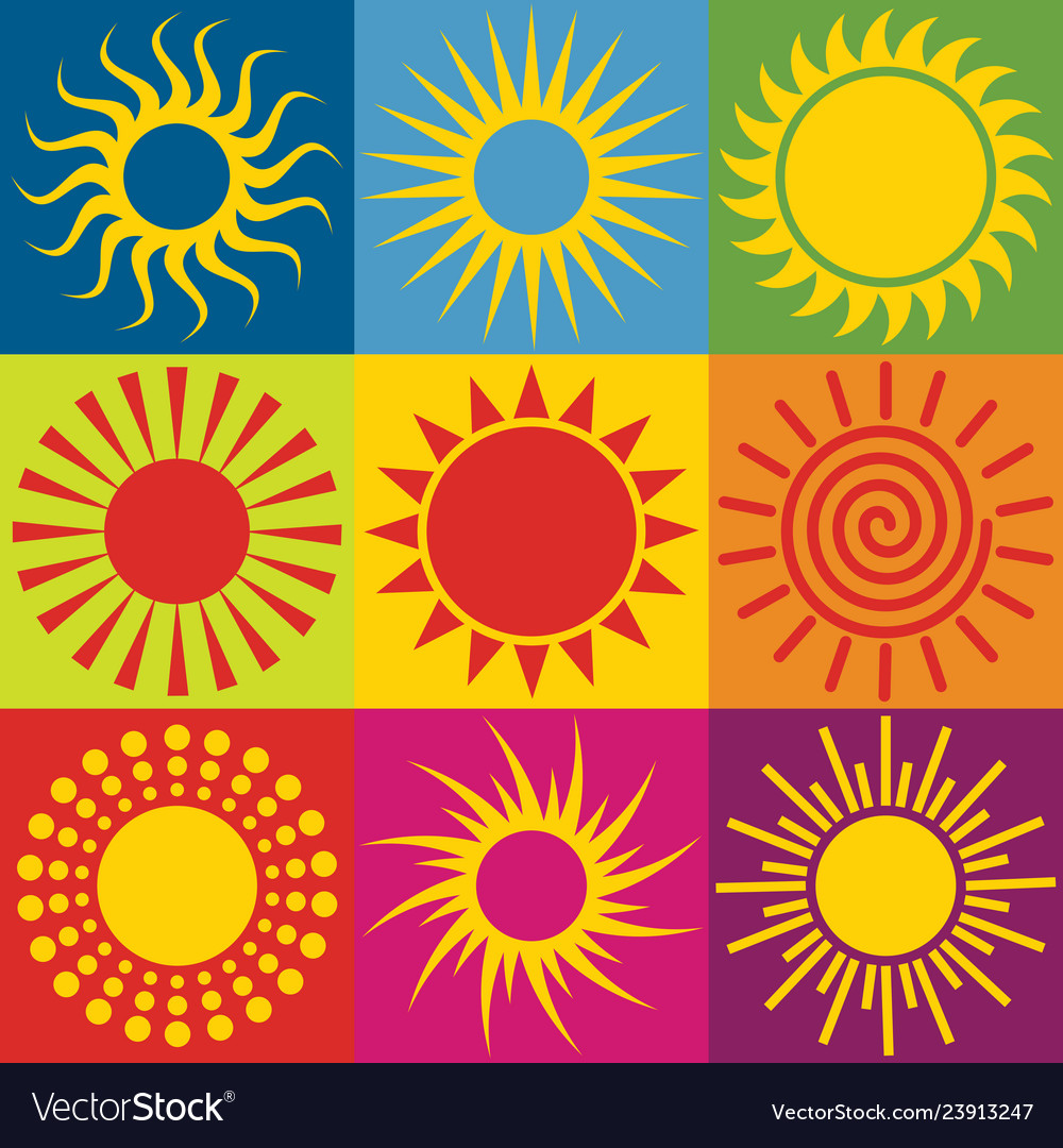Set different sun icons