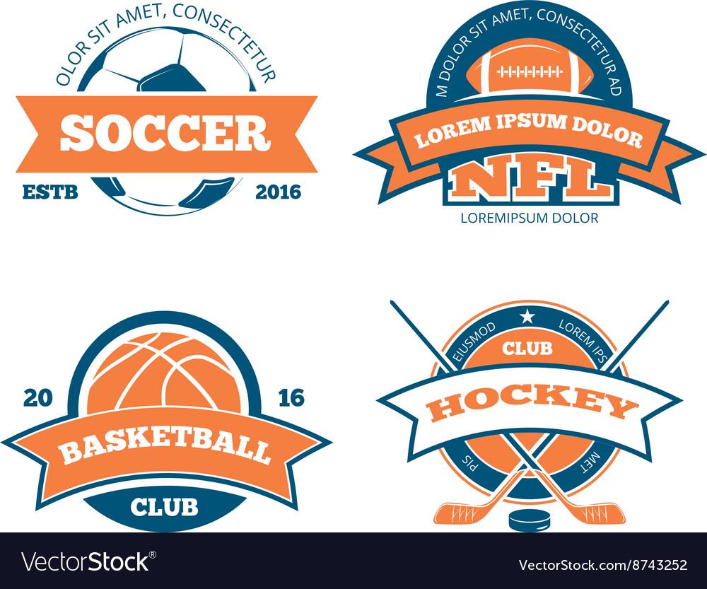 American football basketball soccer hockey
