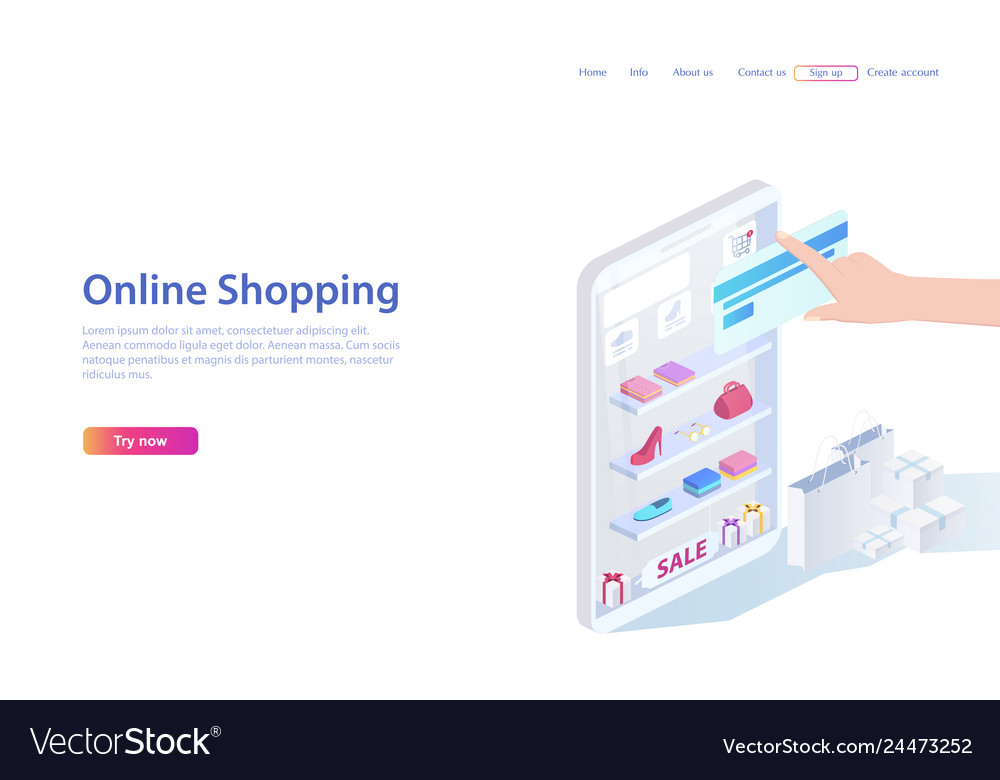 Concept of sales shopping people shopping in