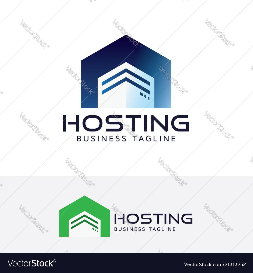 Hosting logo design