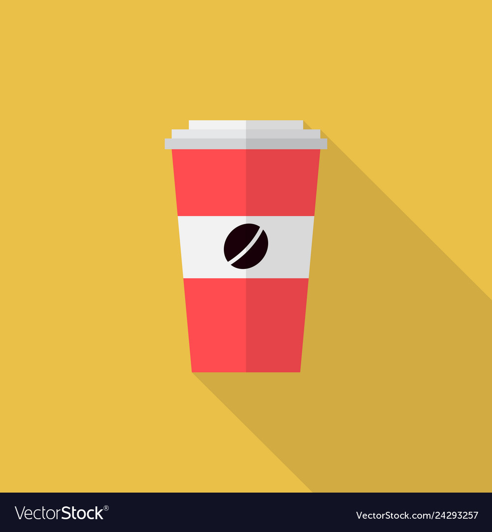 Coffee icon set of great flat icons design