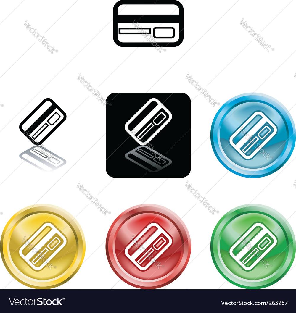credit cards icon. Credit Card Icon Symbol Vector
