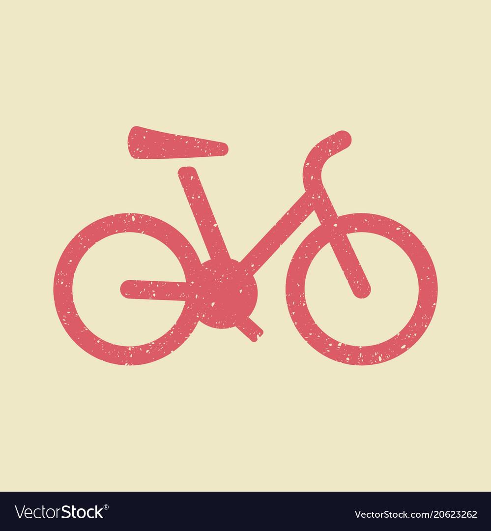 Bicycle bike icon