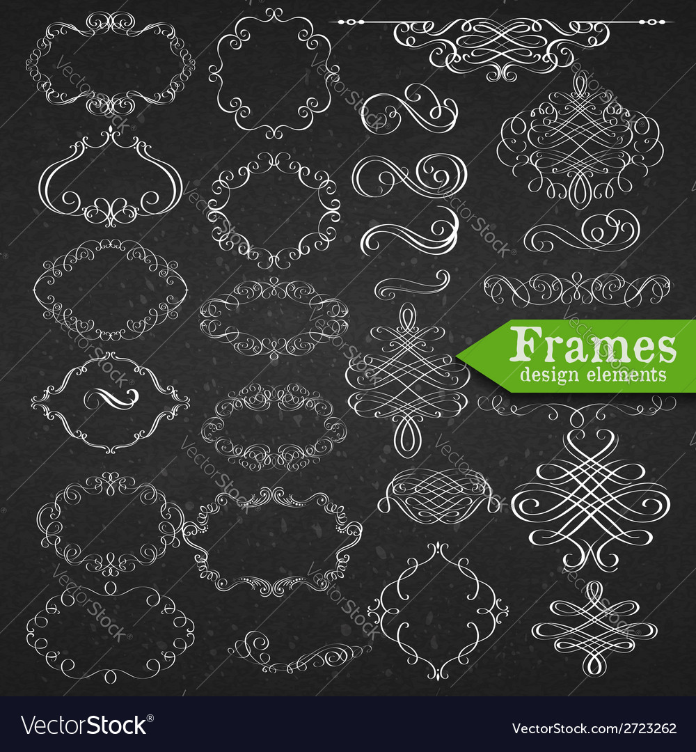 Set of graphic elements for design