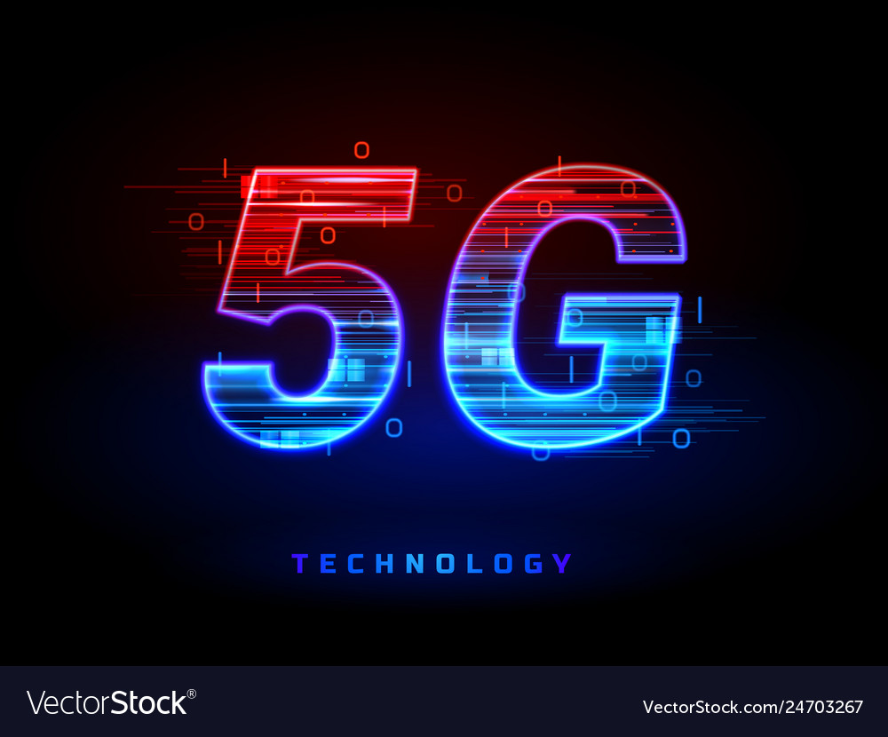 5g wireless speed connection technology sign