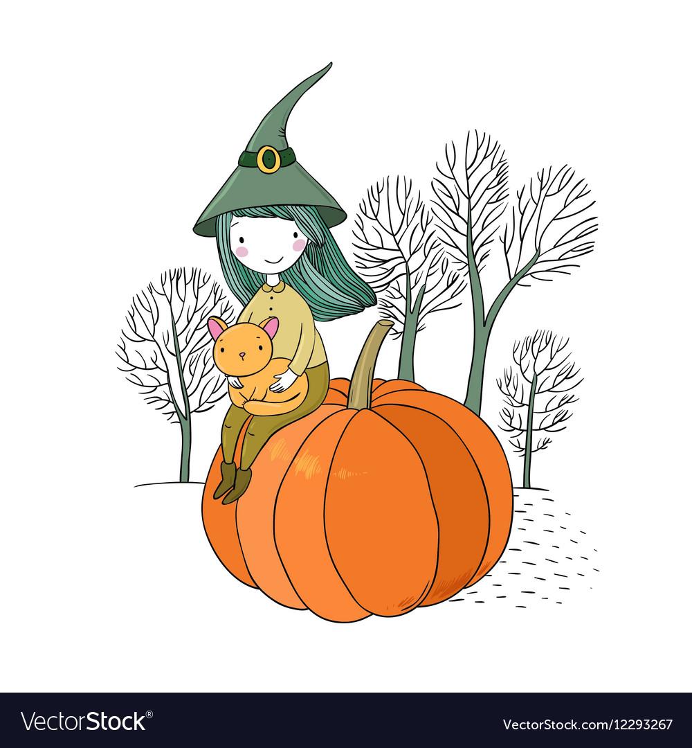 Autumn theme Halloween