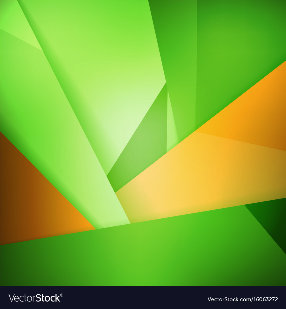 Abstract Background Soft Blurred Green And Orange