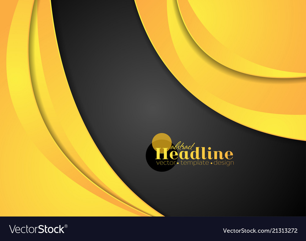Abstract modern corporate waves background