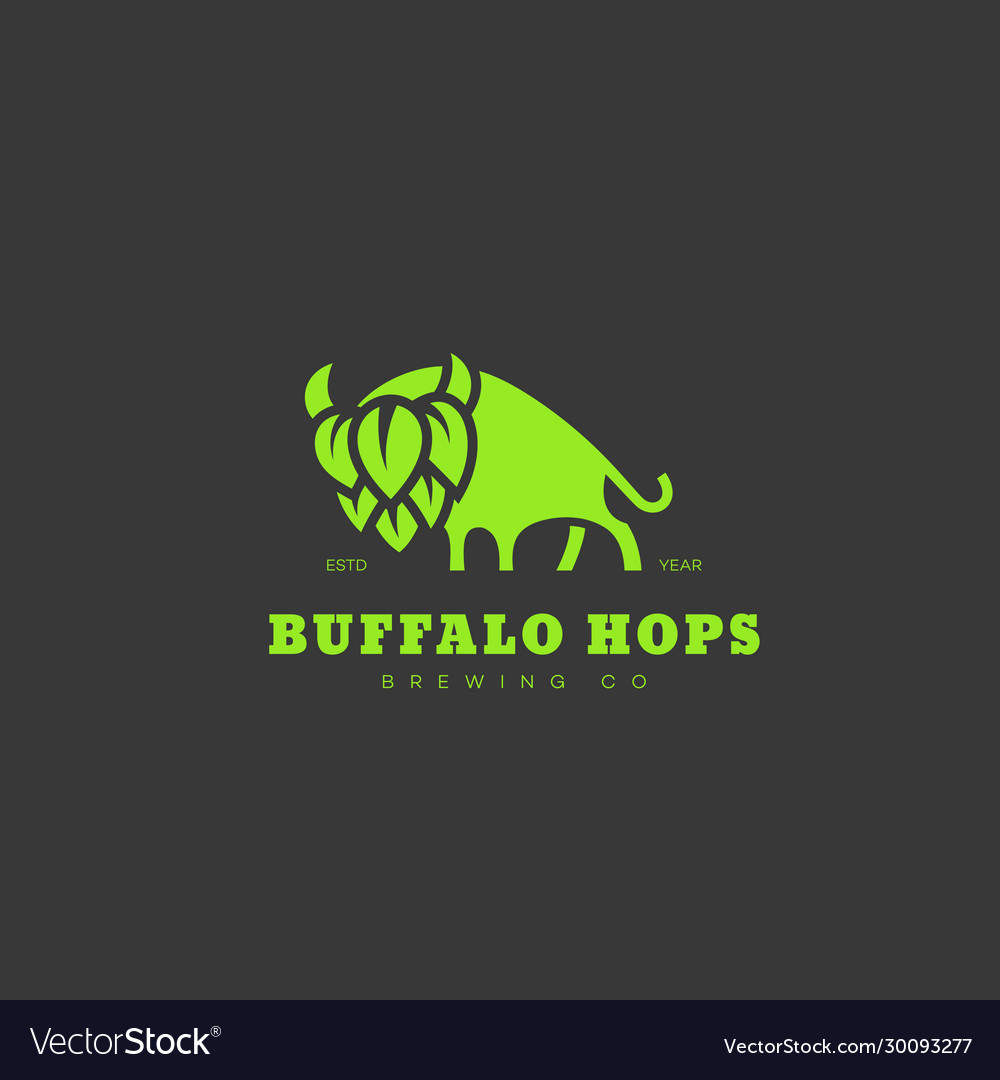 Buffalo hops logo