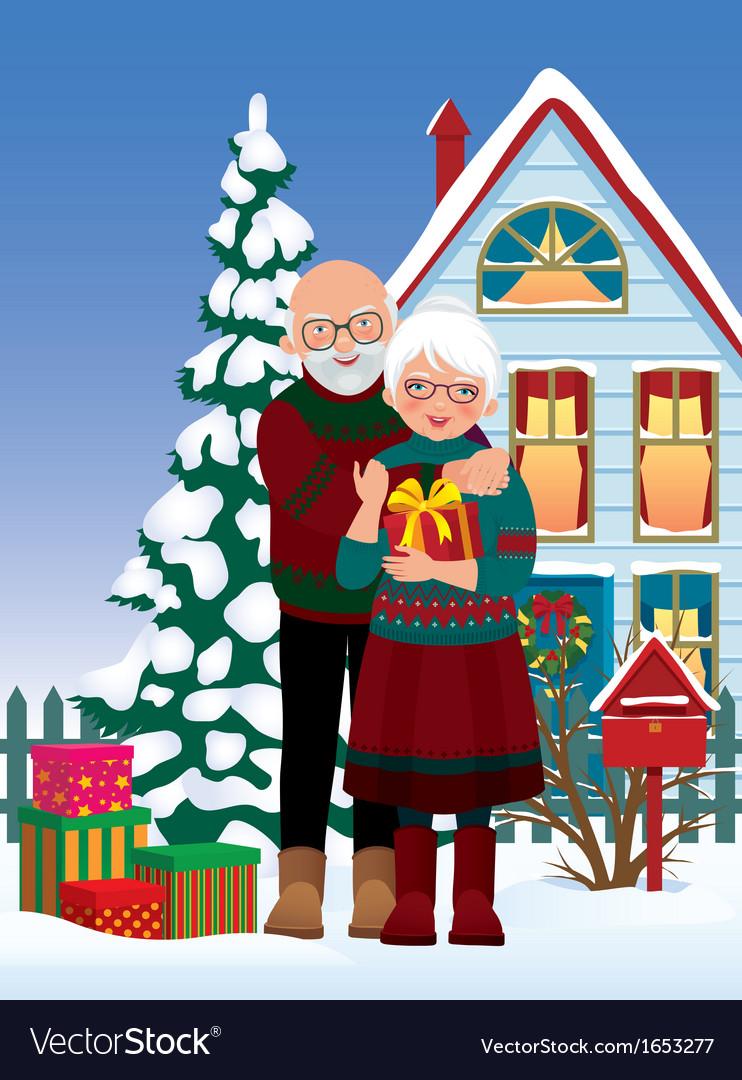 Картинках для, открытки для бабушек и дедушек на новый год