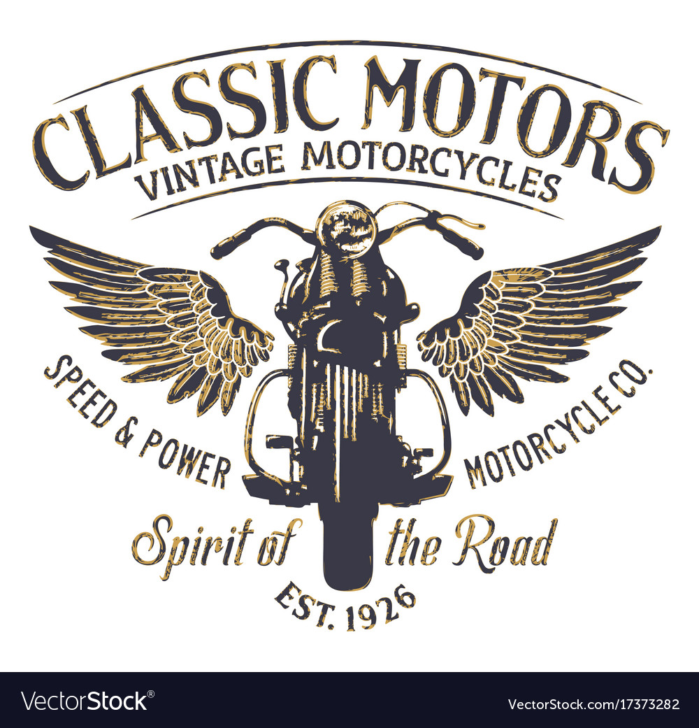 Classic vintage motorcycle company