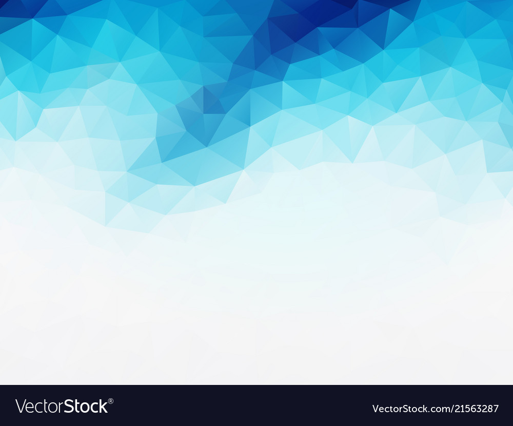 Blue white geometric background