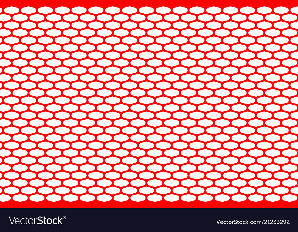 Abstract pattern red net on white