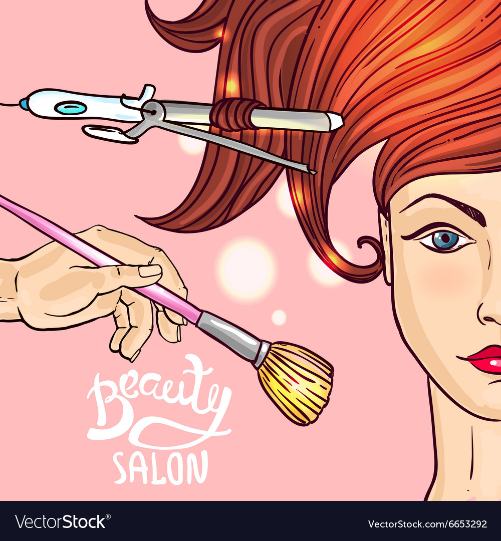 Make up and hairstyle