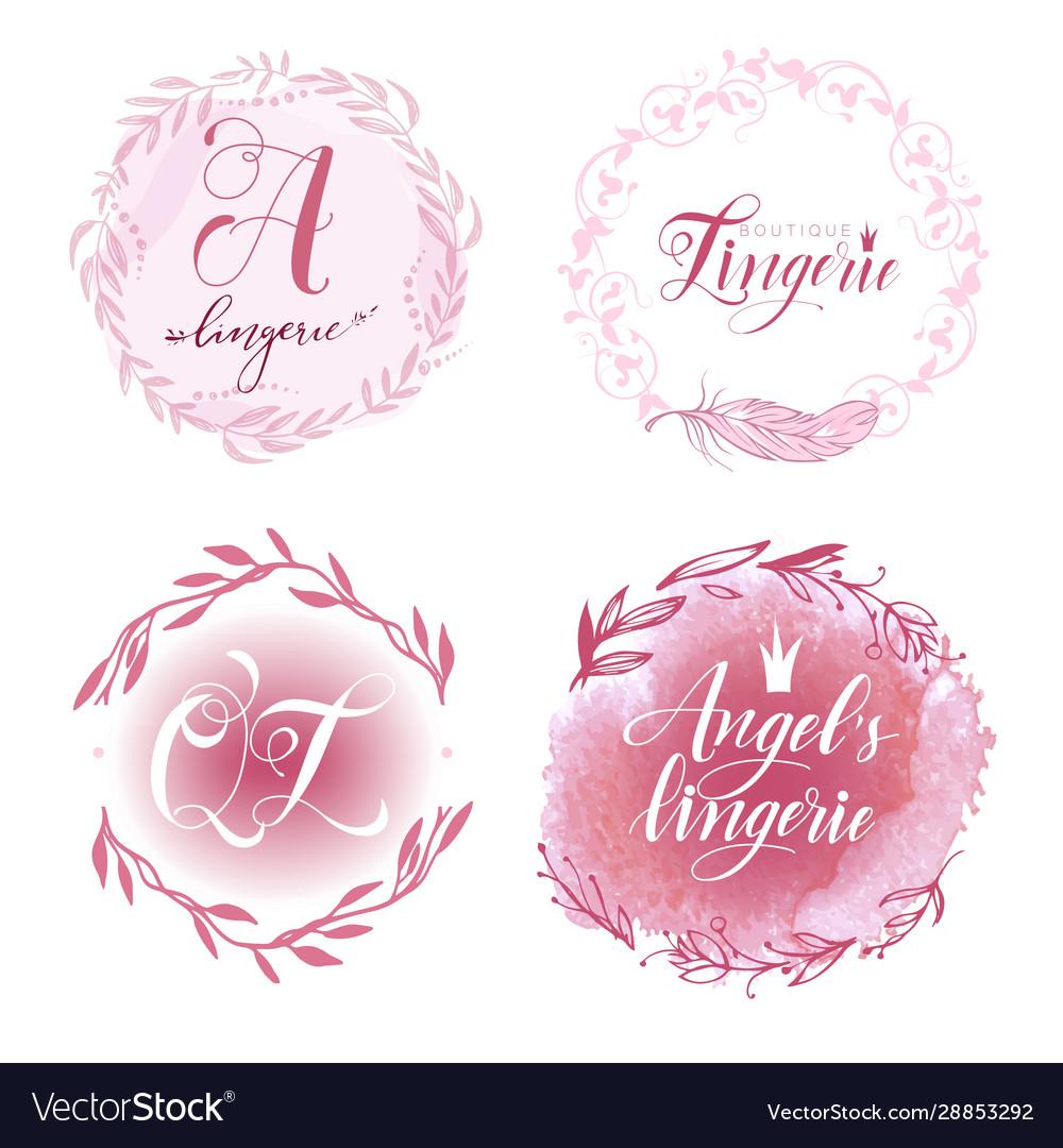 Set lingerie logo
