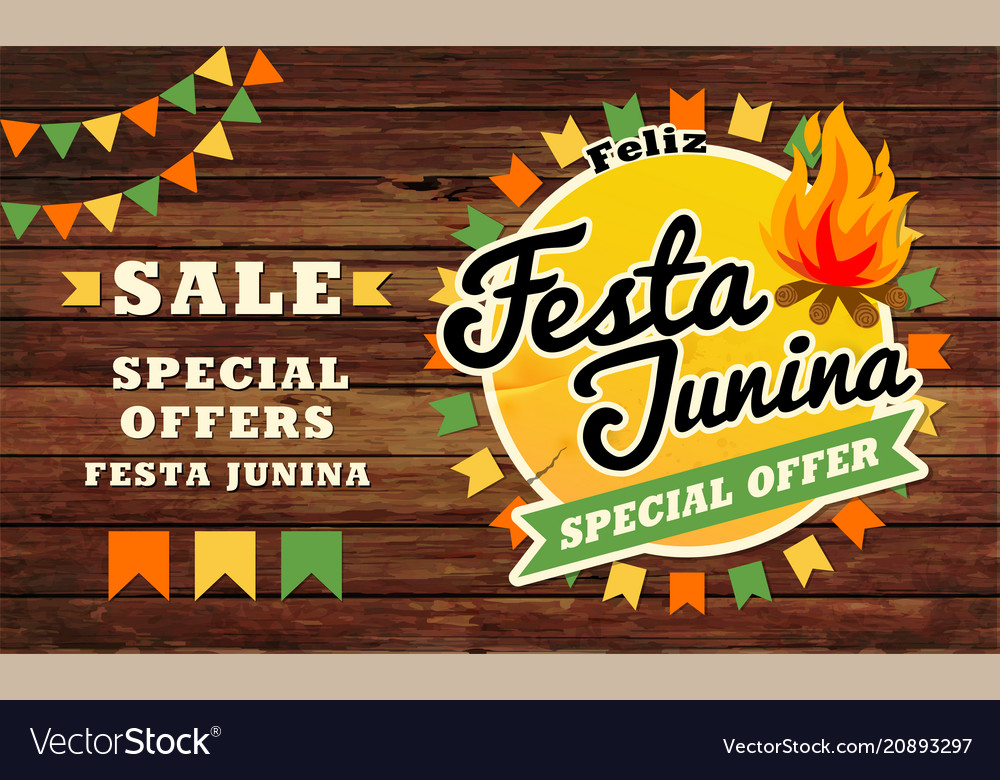 Festa junina traditional brazil june