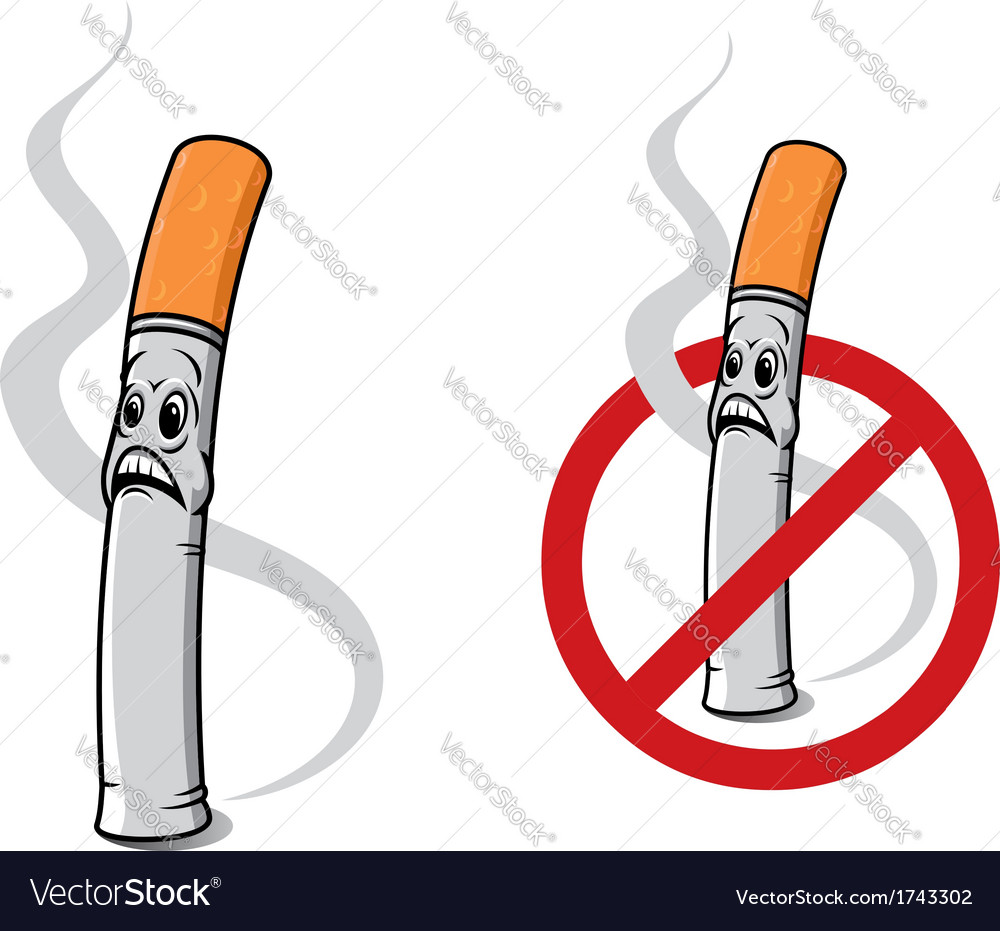 Cartoon cigarette