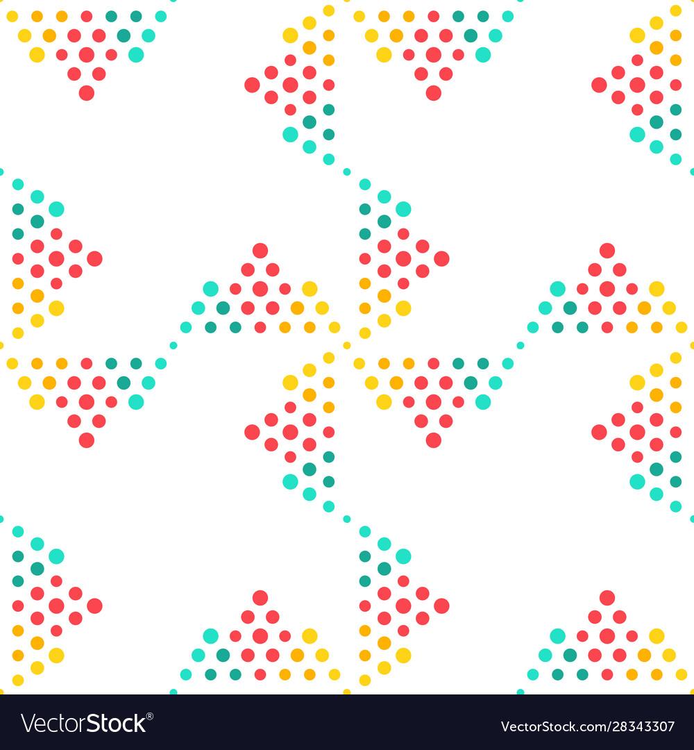 Seamless geometrical circle pattern background
