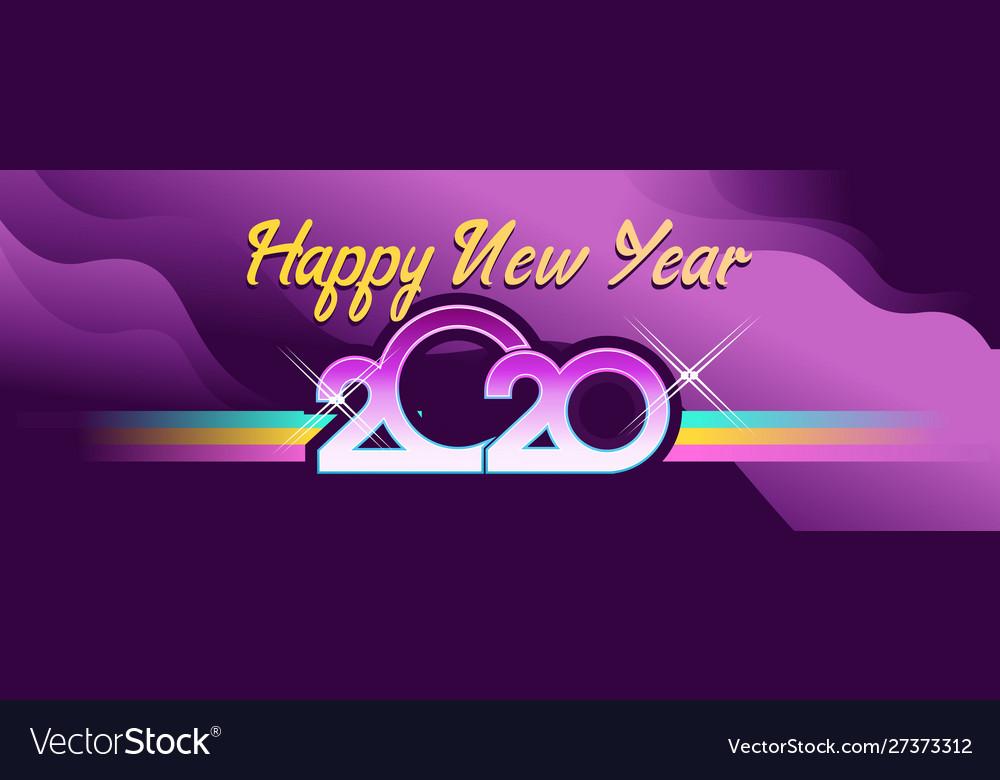 2020 calendar retro