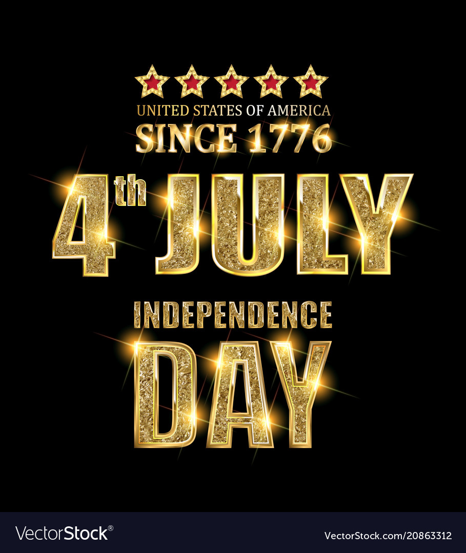 4th july independence day banner